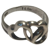 Tiffany & Co. Silver ring with hearts