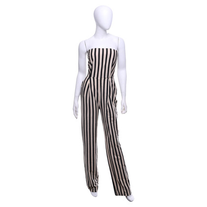 Elisabetta Franchi Overall with vertical stripes