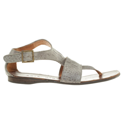 Other Designer Leather Sandals grey