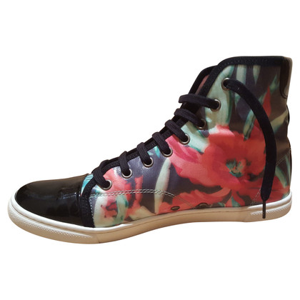 Lanvin Haut-top sneakers design floral