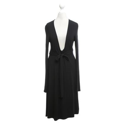 Patrizia Pepe Jersey jurk in zwart