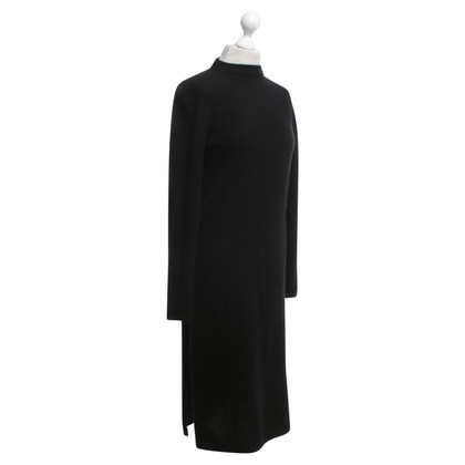 360 Sweater Cashmere knit dress in black