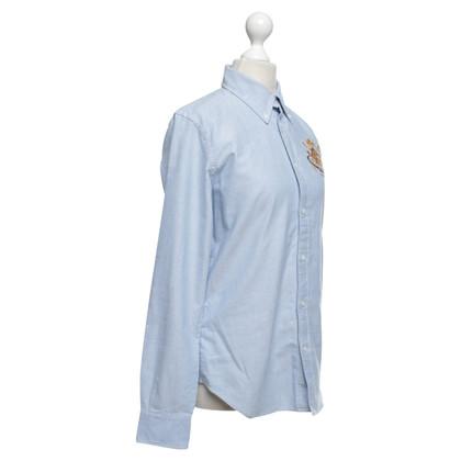 Ralph Lauren Shirt in lichtblauw