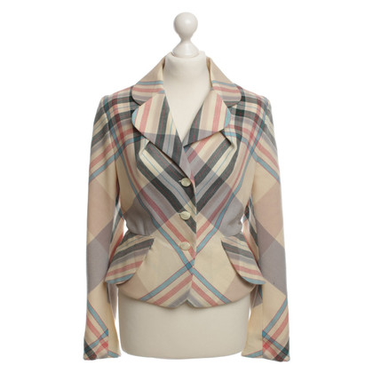 Vivienne Westwood Blazer with check pattern