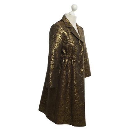 DKNY cappotto di broccato