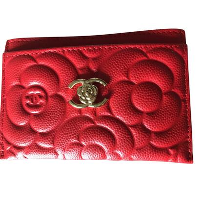 Chanel Portemonnaie aus Kaviarleder