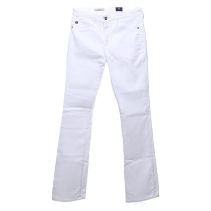 Adriano Goldschmied Flip jeans in white