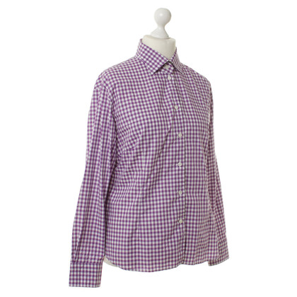 Bogner Blouse met Plaid