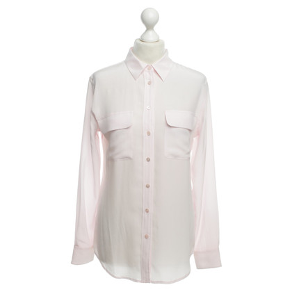 Equipment Silk blouse in pink