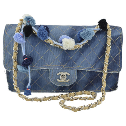 "Chanel ""Denim Flap Bag"""