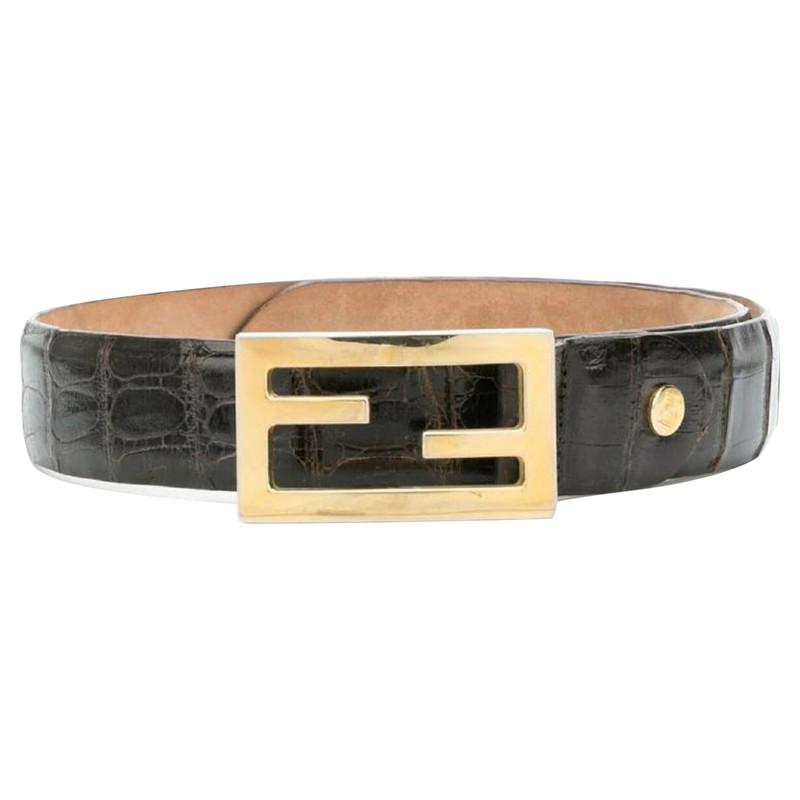 Fendi Belts Second Hand: Fendi Belts Online Store, Fendi