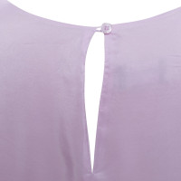 Armani Oversized zijden jurk in Pink