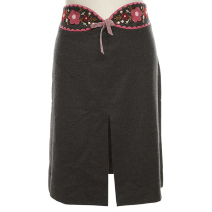Moschino Cheap and Chic skirt in grey