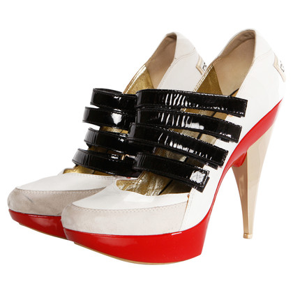 Dsquared2 Sneaker sandal on high heel