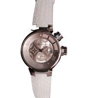 Louis Vuitton Polshorloge - trommel rubber roze