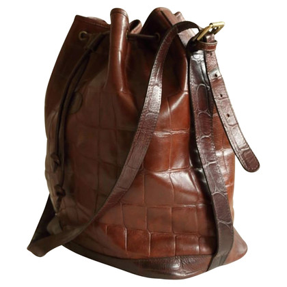 Mulberry Handbag with crocodile embossing