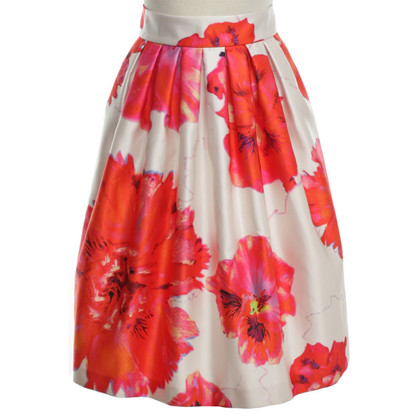 Marc Cain skirt with red floral print