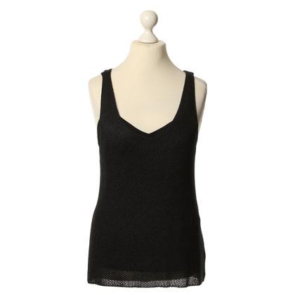 Ralph Lauren Black power shirt met top