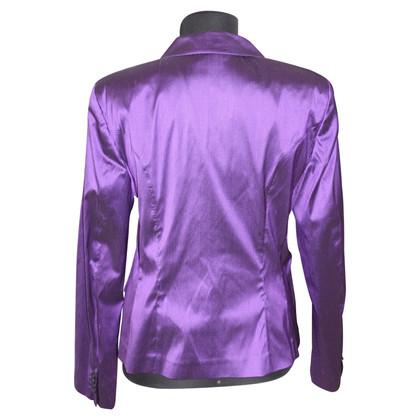 Etro Pantaloni di seta viola