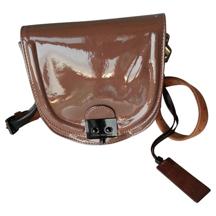 Pauric Sweeney Patent leather handbag