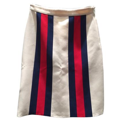 Gucci Silk / wool midi skirt