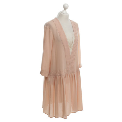 Twin-Set Simona Barbieri Chiffon dress in rose