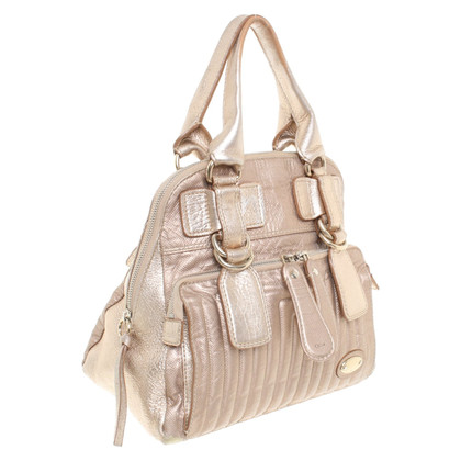 "Chloé ""Bay Bag"" in Rosé-Metallic"