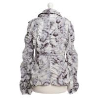 Marc Cain Jacket with batik pattern