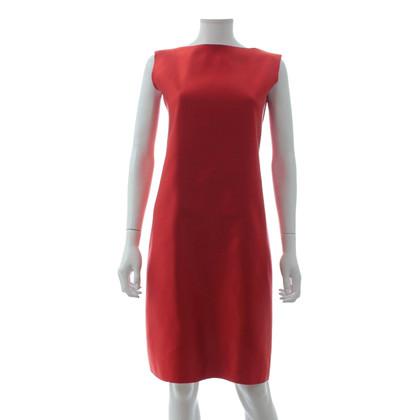 Lanvin Robe en soie en rouge