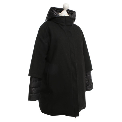 Duvetica Coat in zwart