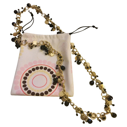 Coccinelle necklace with charms