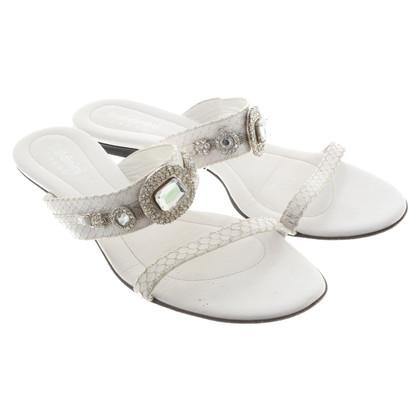 Baldinini Sandales en blanc