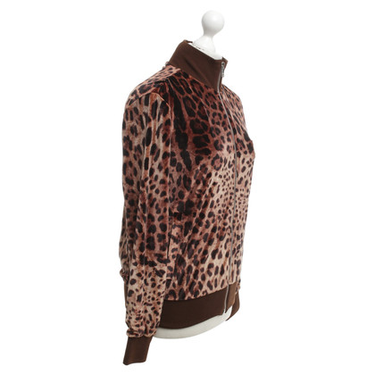 Dolce & Gabbana Sweatjacke mit Muster