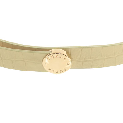 Furla Belt in yellow-green