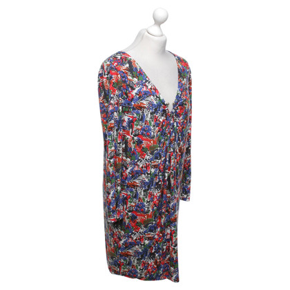Missoni Patterned dress with gathering