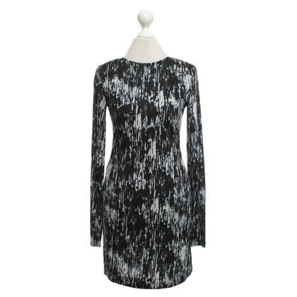 Theory Jersey dress with pattern