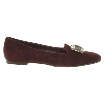 Dolce & Gabbana Slipper con pietre preziose