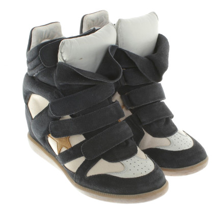 Isabel Marant Zeppe in Blue / Beige