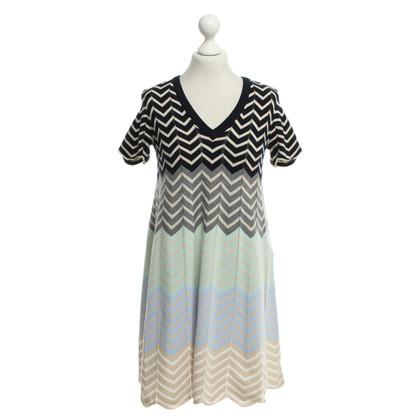 Twin-Set Simona Barbieri Kleid mit buntem Muster