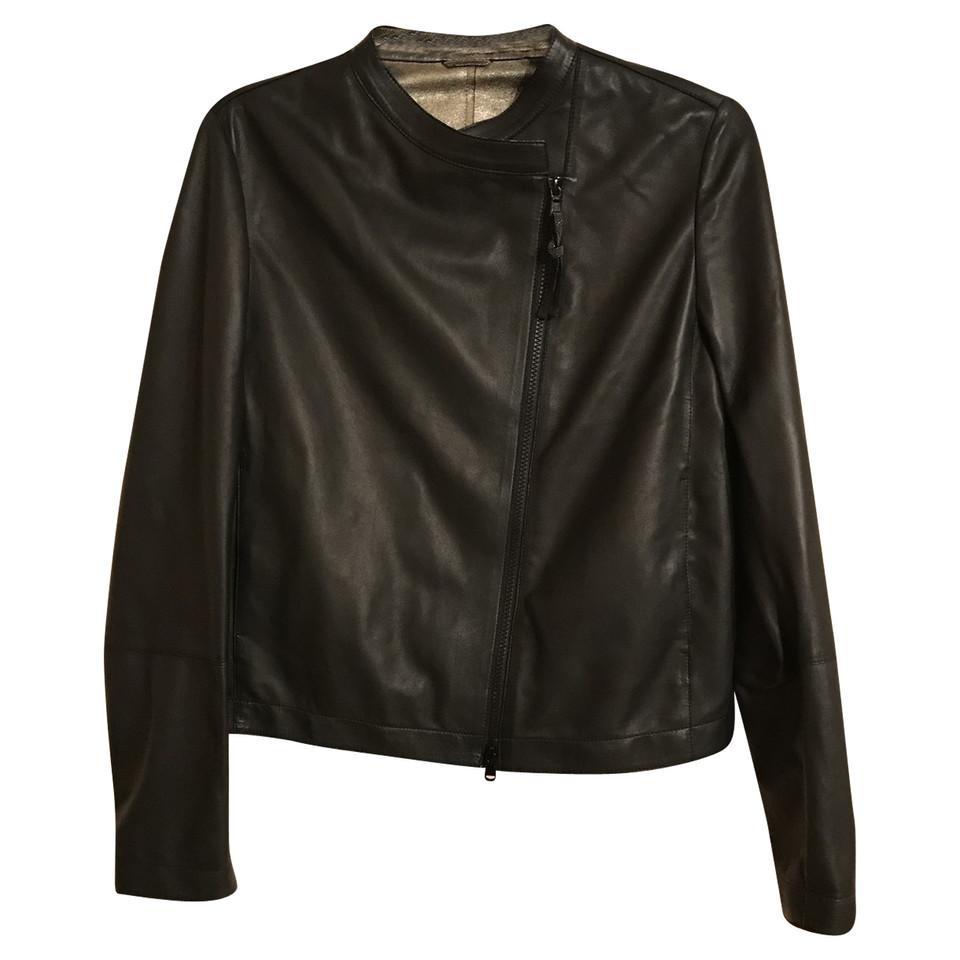Brunello Cucinelli giacca di pelle