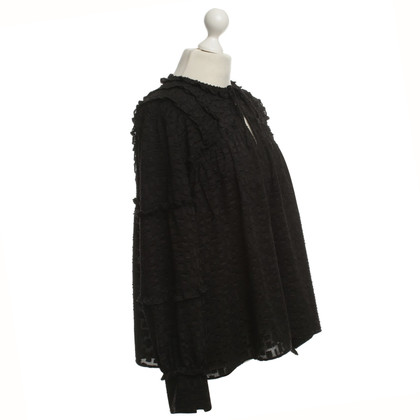 Iro Blouse in Black