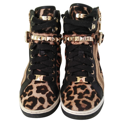 Michael Kors Pony fur sneakers