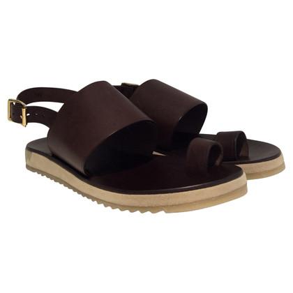 A.P.C. leren sandalen