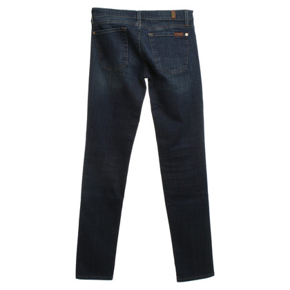 7 For All Mankind Dark blue Skinnyjeans