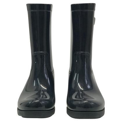 Prada Rubber boots in dark blue