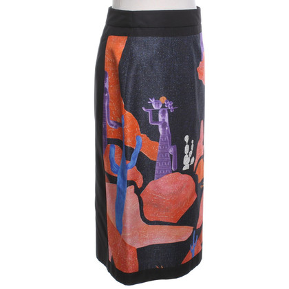 Prada skirt with print