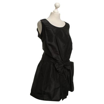 See by Chloé Robe en soie en noir