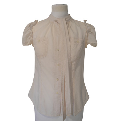 Marc by Marc Jacobs Bluse in Nude