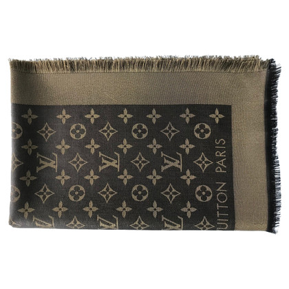 Louis Vuitton Panno lustro Monogram in Brown / oro