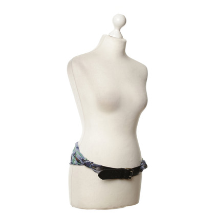 Marc Cain Belts made of leather & chiffon
